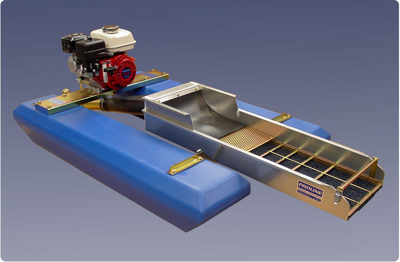 Portable Suction Dredge : Proline mining equipment gold dredges quot inch