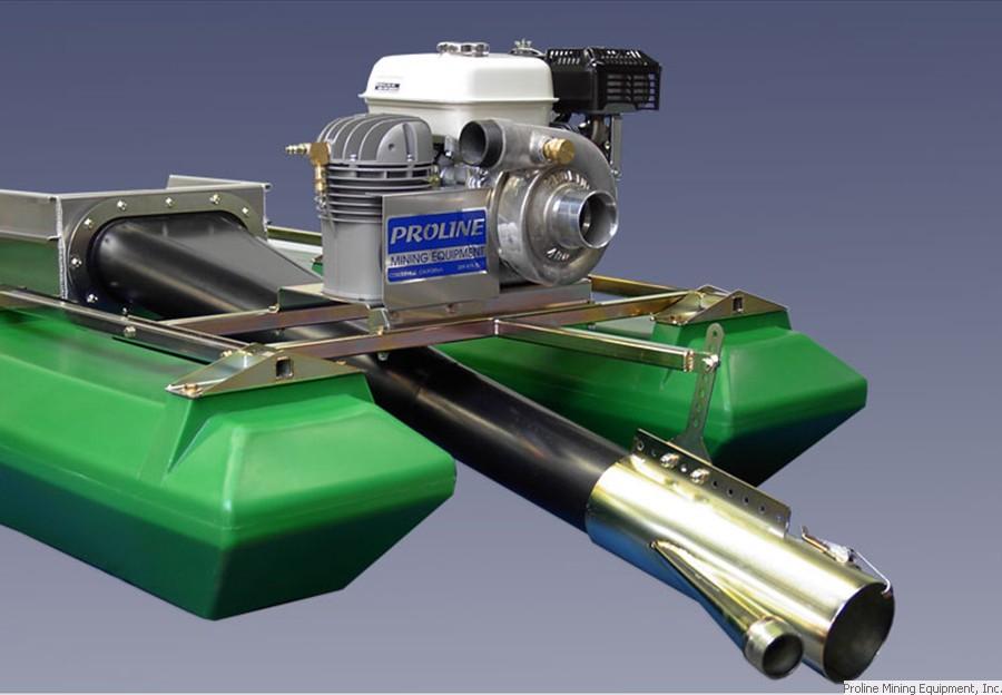 Small Gold Mining Dredges : Proline mining equipment gold dredges quot inch